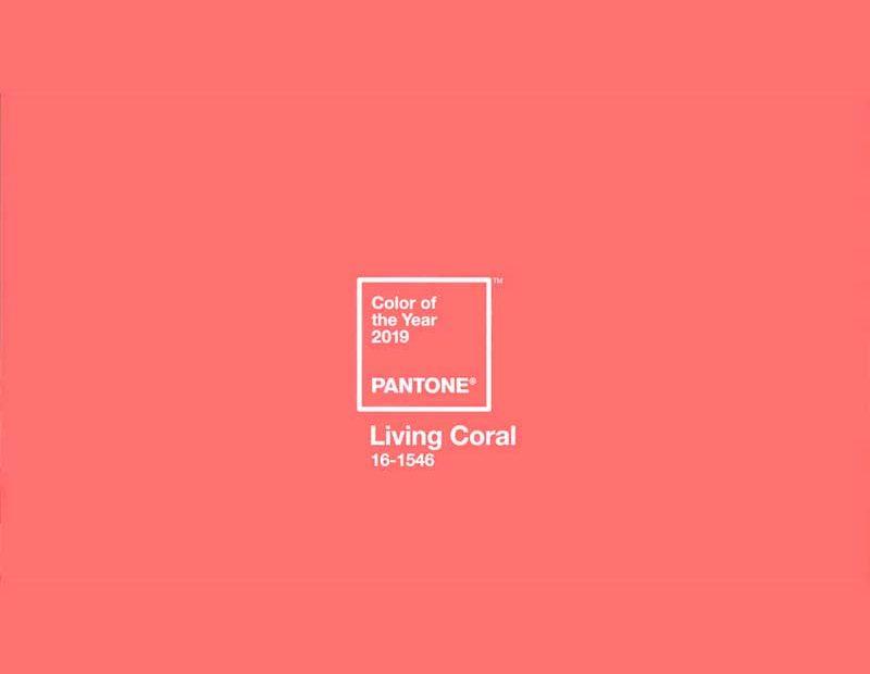 Pantone Coral el color del 2019