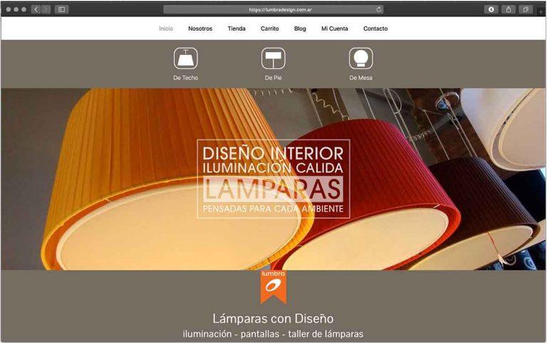 pagina sitio web