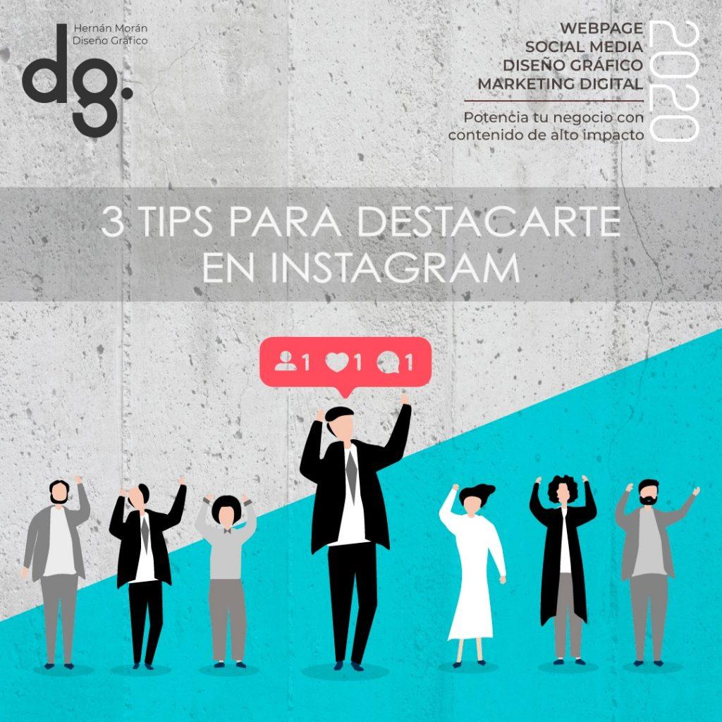 3 tips para instagram