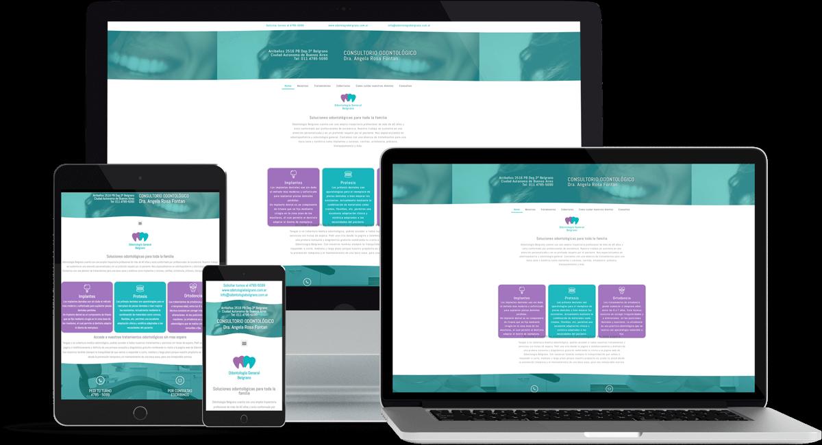 Diseño Web para OB