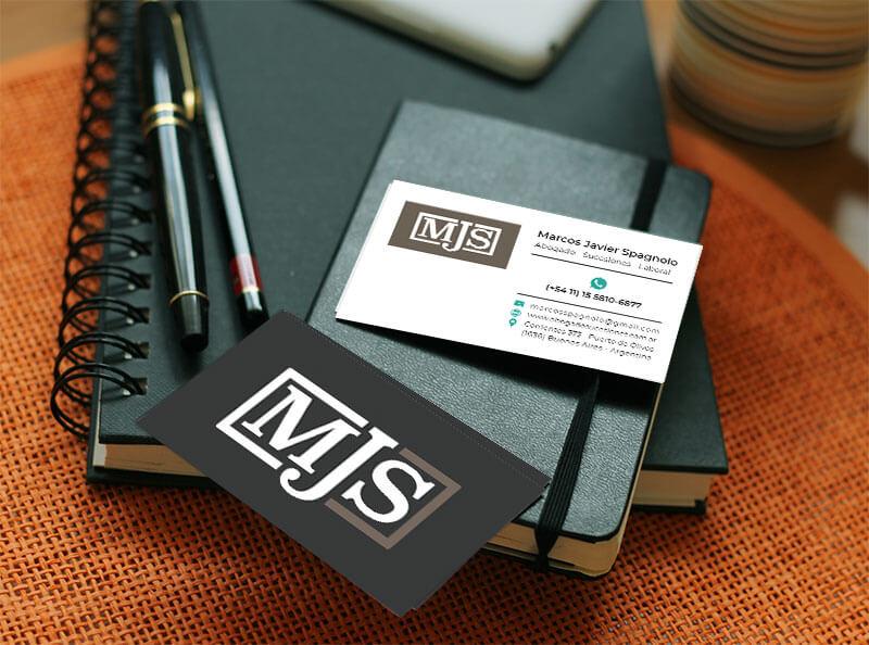 diseño de tarjetria para MJS